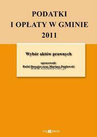 Tax Press Podatki i opłaty w gminie 2011