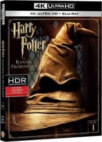 Warner Bros Entertainment HARRY POTTER I KAMIEŃ FILOZOFICZNY 2BD 4K) Płyta BluRay)