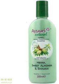 Ayuuri Szampon odżywczy z Henną URI-005
