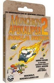 Black Monk Gra Munchkin Apokalipsa 2 Inwazja Owcych 96727