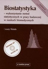 Biostatystyka + płyta CD - Cezary Watała