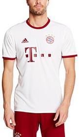 Adidas koszulki męskie, repliki koszulek zawodników klubu FC Bayern Monachium, biały, m AZ4663