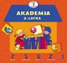 WYDAWNICTWO-SKRZAT Akademia 3-latka 9788374370189
