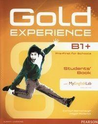 PEARSON Gold Experience B1+ Students Book + DVD + MyEnglishLab - Carolyn Barraclough, Megan Roderick