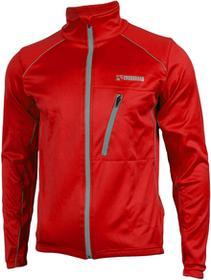 CROSSROAD CROSSROAD ROCKFORD zimowa kurtka rowerowa softshell czerwona