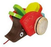 Playme Zwierzątko do ciągnięcia - Kolorowy jeż