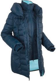 Bonprix Kurtka outdoorowa 2 w 1, pikowana ciemnoniebieski