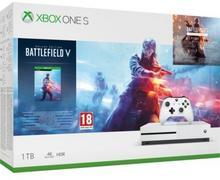 Microsoft Xbox One S 1TB Biały + Battlefield V Deluxe Edition