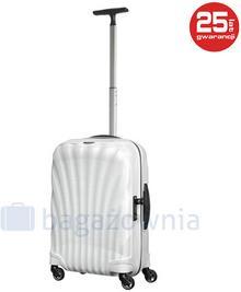 Samsonite Mała kabinowa walizka COSMOLITE 73349 Biała - biały