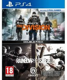 Double Pack: Tom Clancy's The Division + Tom Clancy's Rainbow Six: Siege PS4