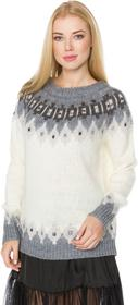 Desigual Alberta Sweater Biały XS (187776)