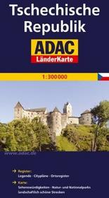 ADAC Czechy mapa 1:300 000 ADAC