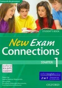 New Exam Connections 1 Podręcznik z kodem do ćwiczeń online, część 1. Klasa 1-3 Gimnazjum Język angielski - Diana Pye, Joanna Spencer-Kępczyńska, Dari