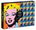 MUDPUPPY GALISON Warhol Marilyn 500 Piece Double Sided Puzzle