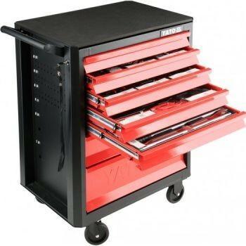 Yato szafka serwisowa z narzędziami 141 elementów YT 55291