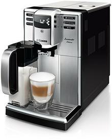 Saeco HD8921/01 Incanto Deluxe kompaktowy ekspres automatyczny ze stali nierdzewnej, zintegrowany system spieniający mleko HD8921/01