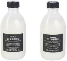 Davines Zestaw OI Oil szampon do każdego rodzaju włosów 280ml x2