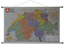 Stiefel Szwajcaria mapa ścienna kody pocztowe 1:400 000 Stiefel