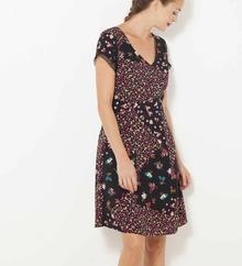 Camaeu Sukienka wzorzysta fit and flare 514493_0902