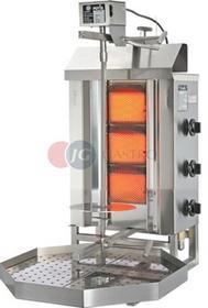 Potis Kebab/gyros gazowy 5,25 kW wsad 15 kg G 1 G 1