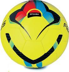 Spokey Piłka nożna halowa Unus Futsal rozm 4 żółta 839937