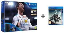 Sony PlayStation 4 Slim 1TB Czarny +FIFA 18 Special + DESTINY 2