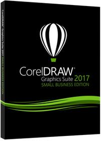 Corel Draw DRAW Graphics Suite 2017 Small Business Edition 3 stanowiska)