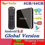 H96 MAX 4GB pamięci RAM 64GB Rom Android 9.0 TV, pudełko X2 Amlogic S905X2 inteligentny odtwarzacz