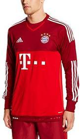 Adidas koszulka piłkarska, replika wyjazdowej koszulki bramkarskiej FC Bayern Monachium, chłopięca, czerwony, 78 lat S08655/128