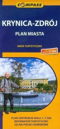 Wydawnictwo Compass Krynica Zdrój plan miasta 1:17 500 - Compass