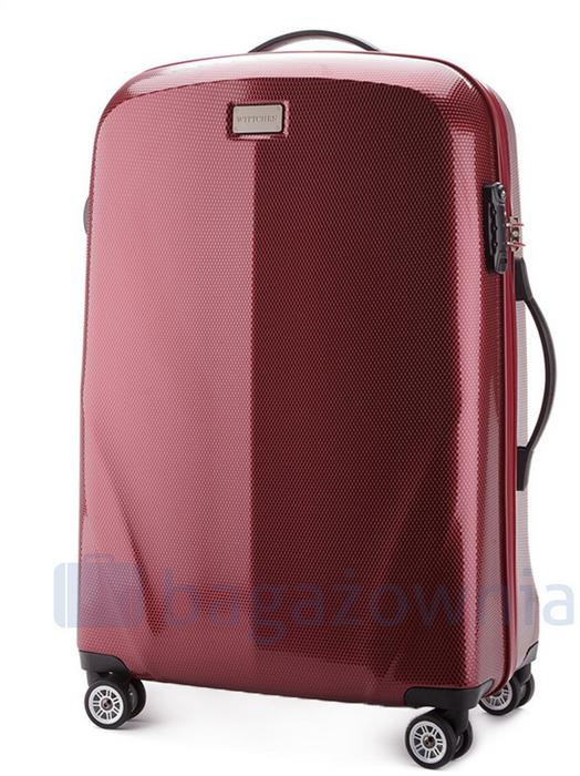 281a394437025 Wittchen Średnia walizka 56-3P-572-35 Bordowa - bordowy 56-3P-572-35 – ceny,  dane techniczne, opinie na SKAPIEC.pl