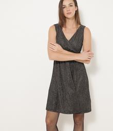 Camaeu Sukienka opalizująca z drapowaną górą 515099_1093