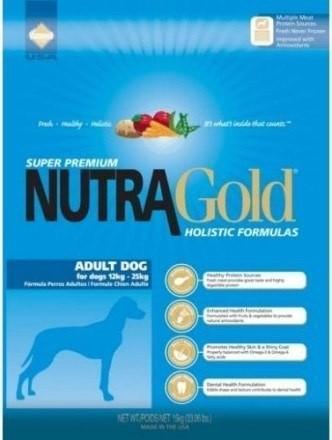 Nutra Gold Holistic Adult Dog kurczak i indyk 15kg