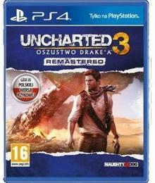 Uncharted 3 Oszustwo Drakea Remastered PS4