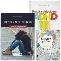 Praca z dzieckiem z ADHD + Depresja u dzieci i młodzieży + Kolorowanka - Wiedza i Praktyka