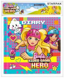 STARPAK Pamiętnik z kluczykiem Barbie w świecie gier praca zbiorowa