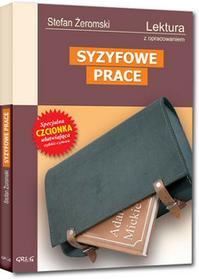 Greg Syzyfowe prace - lektury z omówieniem, gimnazjum - Stefan Żeromski
