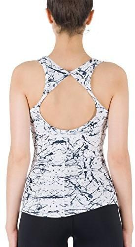 18464d75e7aee9 icyzone sportowa koszulka damska, do jogi / fitness / ćwiczeń - l TK8-1