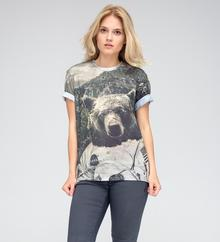 Miss Mr. Gugu & Go T-Shirt Nasa bear