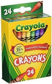 Crayola Box of Crayons NON-TOXIC Color Coloring School Supplies, 24Count, (5200243) by Crayola