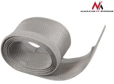Maclean Maskownica kabli 1.8m 85mm MCTV-675 S silver MCTV-675S