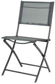 Krzesło składane Blooma Saba antracyt