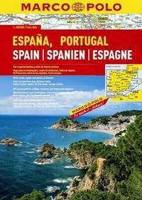 Marco Polo Hiszpania atlas 1:300 000 Marco Polo