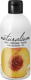 Naturalium Szampon z odżywką Brzoskwinia 400 ml