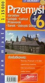 Demart Przemyśl - plan miasta (skala 1:15 000) - Demart
