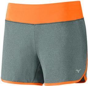 Mizuno Active Short - gray/orange J2GB720605
