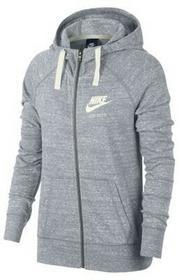Nike Damska rozpinana bluza z kapturem Sportswear Gym Vintage - Szary 883729-051