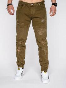 Spodnie 526P - ZIELONE