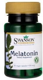 Swanson Melatonina 500mcg 60 vcaps
