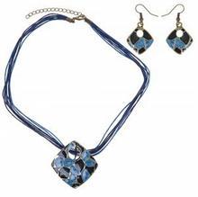 Durango Komplet z kolczykami na sznurkach , niebieski 1C09-82781